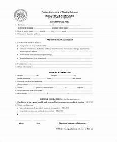 Health Certificate Sample Free 8 Sample Certificates In Pdf Ms Word Ai