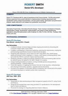 Etl Testing Resume Talend Etl Developer Job Description The Best Developer