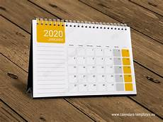 Small Desk Calendar 2020 2020 Desk Monthly Calendar Kb10 W17 Calendar Template
