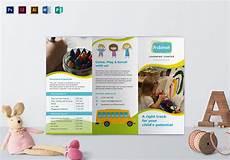School Brochures Templates Pre School Brochure Design Template In Psd Word