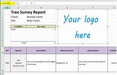 Tree Report Template Excel Template Reports Otiss Support