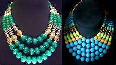 Different Bead Necklace Designs Traditional Beaded Long Necklace Designs 2018 Youtube