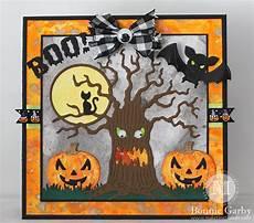 Spooky Halloween Cards Boo Spooky Halloween Card With Bonnie Garby Cheery