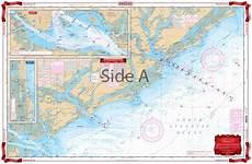 Charleston Sc Nautical Charts Georgia To The Carolinas Waterproof Charts Navigation