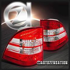 Back Ups Es 550 Red Light Sell 98 05 Benz W163 Ml 320 430 550 Red Clear Led Rear