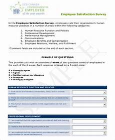 Employee Feedback Survey Free 8 Sample Employee Feedback Forms In Ms Word Pdf