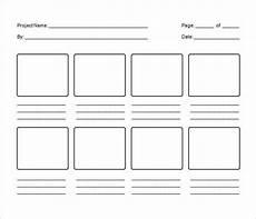Storyboard Illustrator Template 82 Storyboard Templates Pdf Ppt Doc Psd Free