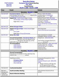 Itinerary Example Free Itinerary Templates To Perfectly Plan Your Trips