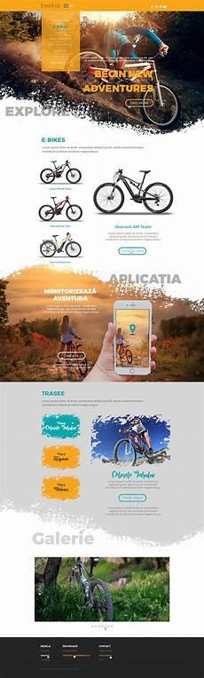 Adventure Web Design Bike Adventure Webdesign дизайн веб сайтов веб дизайн