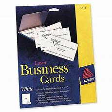 Avery Business Cards 10 Per Sheet Avery Business Card Ld Products