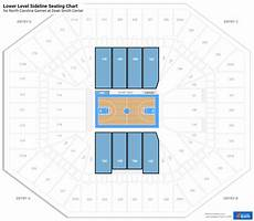 Dean E Smith Center Seating Chart Rows Dean Smith Center North Carolina Seating Guide