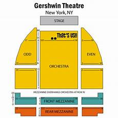 Wicked Seating Chart Gershwin Theatre Don T You Just Love Ny In The Fall I Heart Nyc Wicked