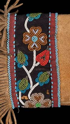 cree beaded rifle scabbard