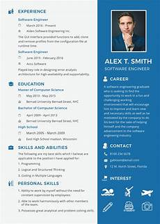 Professional Cv Format For Engineers Free Resume For Software Engineer Fresher Resume