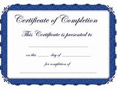 Generic Certificate Of Completion Certificates Of Completion Templates Google Search