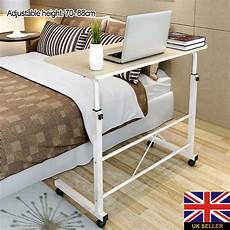 adjustable laptop desk office home table rolling height
