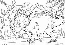 ausmalbild triceratops ausmalbilder kostenlos zum