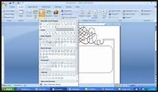 cara membuat bingkai di word untuk undangan elevenia blog