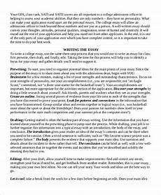 Samples Of College Essays Free 7 College Essay Samples In Ms Word Pdf