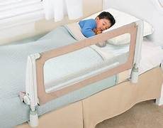 baby and toddler bed rail transition from crib to bed or
