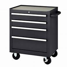 mbi 27 in 4 drawer mobile tool chest black mmb27 4s