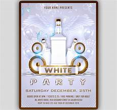 Free All White Party Flyer Template White Party Flyer Template Tworlddesigns Download Now