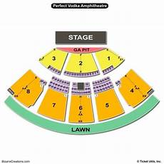 Toronto Amphitheatre Seating Chart Pin On Seating Chart