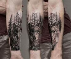Forest Arm Design 60 Forearm Tree Designs For Men Forest Ink Ideas