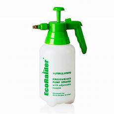 pressurized sprayer 1 liter ecoraider bed