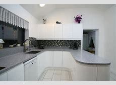 Handleless white gloss kitchen in West Norfolk   newrooms   newrooms