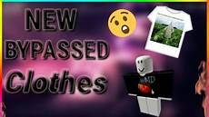 Roblox Shirt 2020 189 Roblox New Bypassed Clothes Working 2020 Youtube
