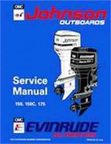 1994 Johnson Evinrude Quot Er Quot 60 Lv 150 150c 175 Service