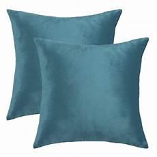 velvet decorative sofa cushion throw pillow cover 18 quot x 18