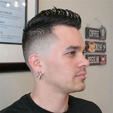 best faux hawk hairstyles for men top funky haircuts