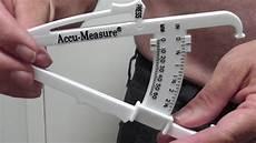 Caliper Body Fat How To Accurately Measure Body Fat Percentage Accu Measure