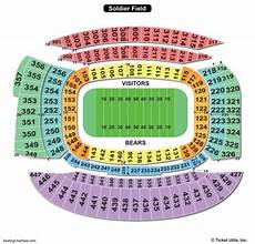 Soldier Field Seating Chart Soldier Field Seating Chart Seating Charts Amp Tickets