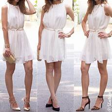 What Color Heels With Light Pink Dress What Shoe Color Goes Best With A White Dress Quora