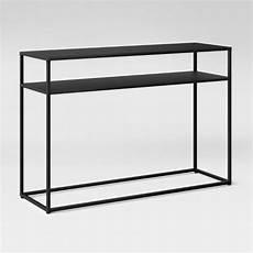 black metal sofa table metal sofa table with gl top foter