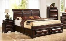 wood high end platform bed with storage new