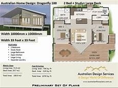 100 2 bed study house plan 100 m2 preliminary