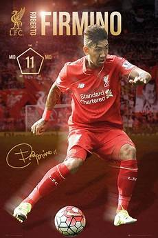 Liverpool Wallpaper Ebay by Roberto Firmino Signature Series Liverpool Fc 2016 Epl