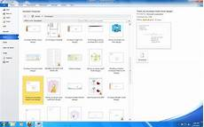 Microsoftoffice Templates Templates In Microsoft Office 2007 And 2010 Microsoft