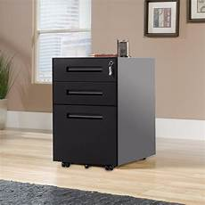 filing pedestal cabinet file office 3 drawers chest