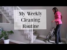 Find House Cleaner My Weekly Cleaning Routine Clean With Me Vlog Style