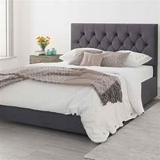 olivier plush velvet ottoman bed steel kingsize 5