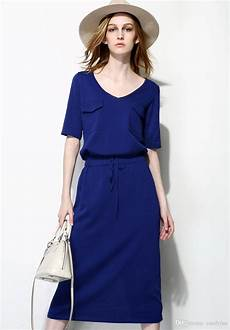 2015 summer dresses smart casual dresses v neck
