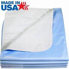 washable bed pads incontinence underpad 24 x 36 blue