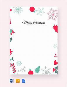 Letter Borders Templates Sample Christmas Letter 24 Documents In Pdf Word