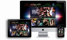 Radio Station Template Online Radio Station Wordpress Template Id 300111825
