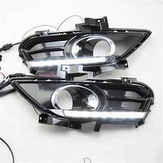 2013 Ford Fusion Fog Lights 2 White Led Daytime Day Fog Lights Drl Run Lamp For Ford